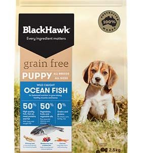 BlackHawk dog food